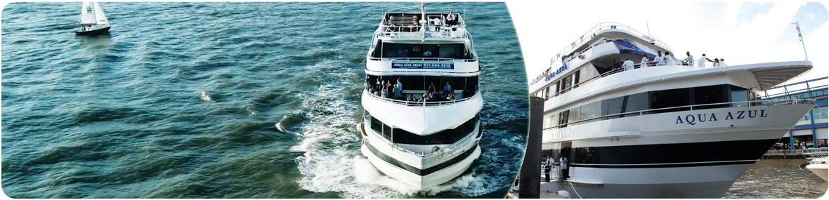 Aqua Azul Yacht Charter Cruise Boat Party New York Ny New