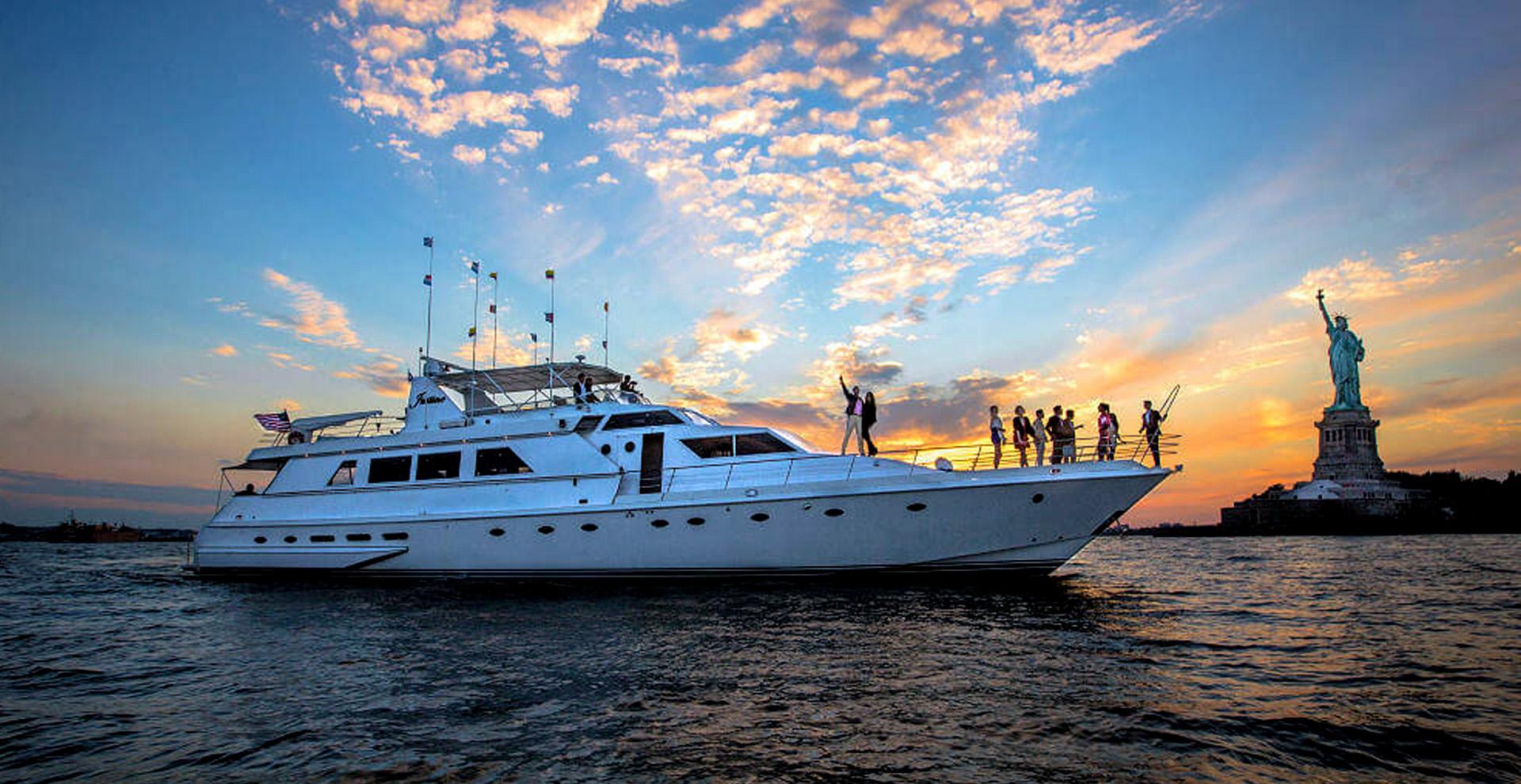 Del Rio Yacht Charter New York City Wedding Boat Party